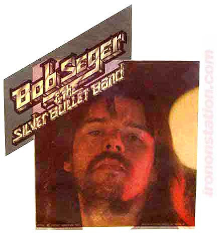 BOB SEGER Vintage Band Tee shirt Iron On Authentic 70s Silver Bullet Band Rock Concert retro