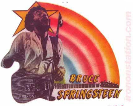 BRUCE SPRINGSTEEN 70s Rock Concert Vintage tee shirt Iron On Authentic nos retro band