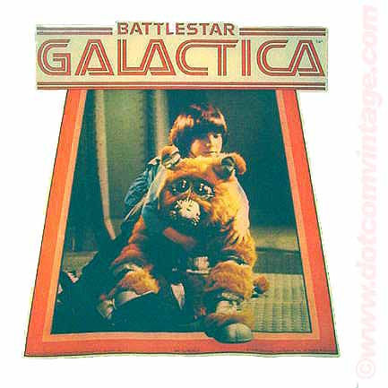 battlestar galactica, muffit, boxy, 70s, vintage, t-shirt, iron-on