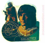dirk benedict, battlestar galactica, vintage, t-shirt, iron-on
