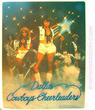 Dallas COWBOYS CHEERLEADERS Vintage 70s Iron On tee shirt transfer Original Authentic Retro
