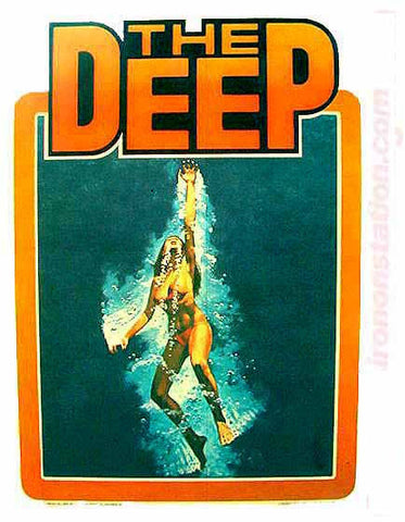 the deep, movie, vintage, t-shirt, iron-on, jacqueline bisset