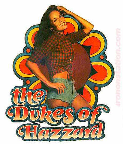1979 DAISY DUKE Dukes of Hazzard 70s Vintage t-shirt iron-on transfer Original Authentic tv series new old stock