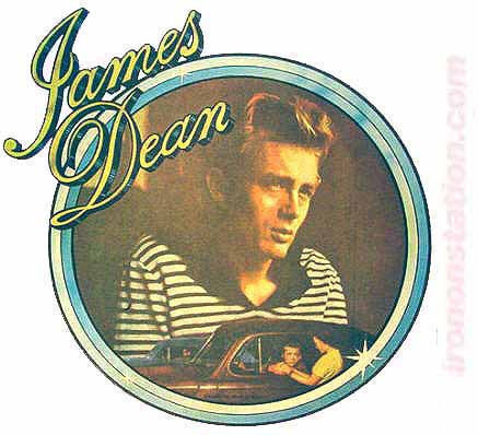 james dean, rebel, teen idol, 60s, 70s, movie star, t-shirt, iron-on
