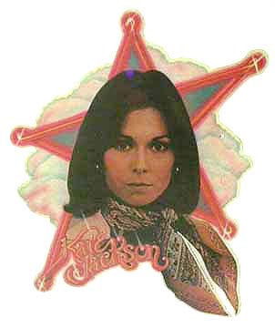 KATE JACKSON 2 Charlies Angels 70s TV Vintage Iron On tee shirt transfer Original Authentic