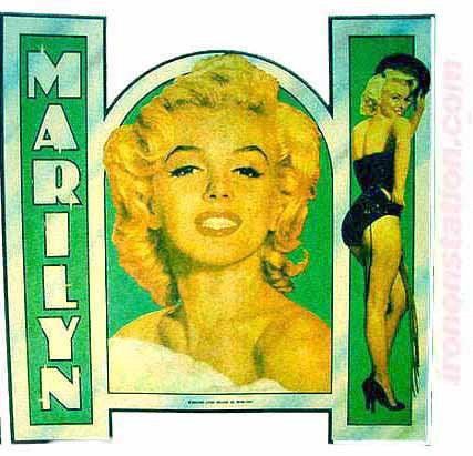 marilyn monroe, vintage, t-shirt, iron-on