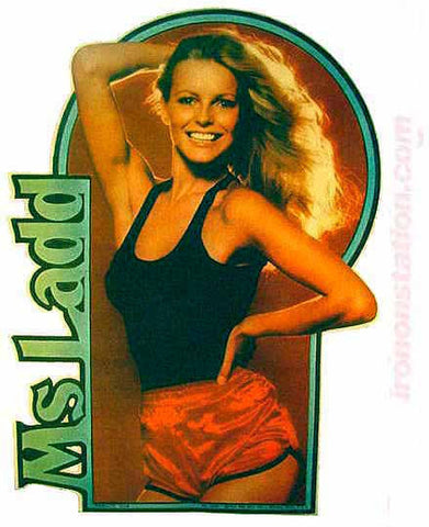 CHERYL LADD of Charlies Angels 70s Vintage TV Iron On tee shirt transfer Original Authentic nos retro