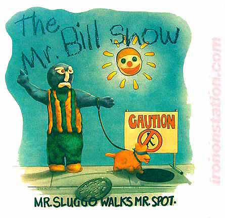 sluggo, spot, mr, bill, snl, saturday night live, vintage, 70s, t-shirt, iron-on