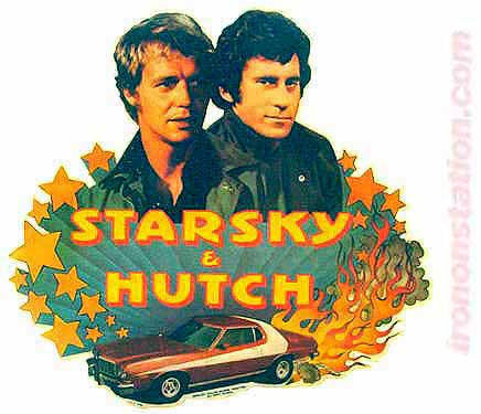 1976 STARSKY HUTCH Vintage t-shirt iron-on transfer Original Authentic nos retro glaser soul