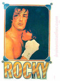 1979 ROCKY and ADRIENNE Balboa Sylvester Stallone 70s Vintage TV Iron On tee shirt transfer Original Authentic nos retro