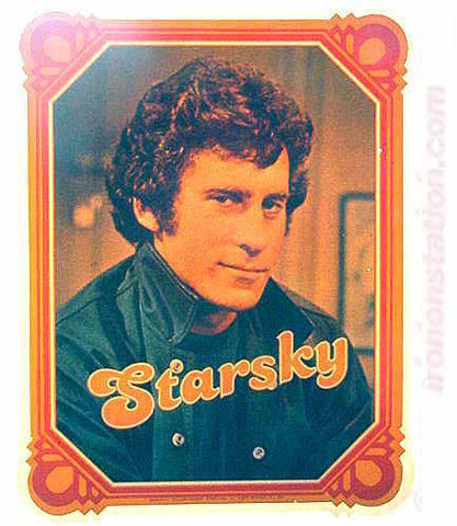 paul michael glaser, starsky, hutch, 70s, vintage, t-shirt, iron-on