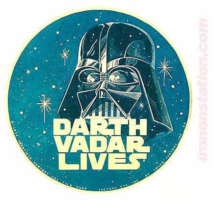 star wars, darth vadar, lives, vintage, t-shirt, iron-on