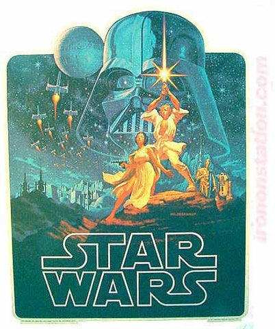 star wars, movie, poster, vintage t-shirt, iron-on