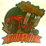 FULL PULL Tractor Mud Farm Vintage 70s tee shirt Iron On Authentic NOS retro