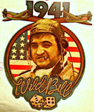 "1979 Movie ""1941"" Wild Bill John Belushi Vintage Iron On tee shirt transfer Original Authentic NOS Spielburg"