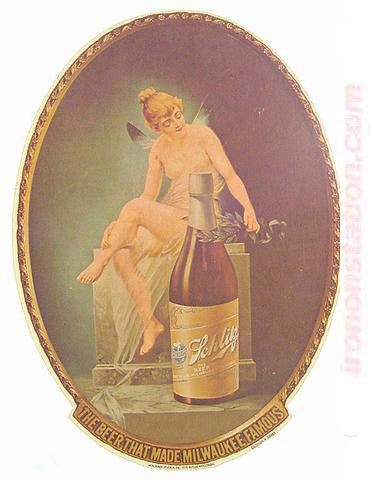 schlitz, beer, booze, vintage t-shirt iron-on