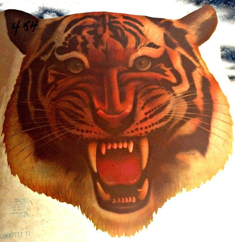 TIGER 70s Vintage t-shirt iron-on retro tee shirt transfer American Fashion by Roach