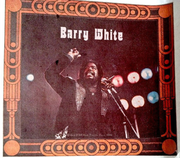 Barry white vintage 70s t shirt iron on retro graphic tee for 70 s t shirt transfers