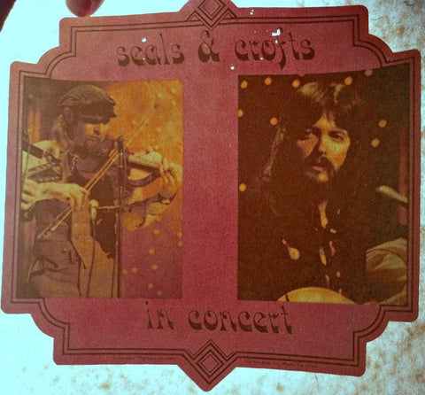 seals, crofts, vintage, 70s, band, t-shirt, iron-on