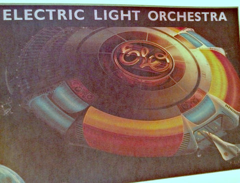 elo, electric light orchestra, vintage, band, t-shirt, iron-on