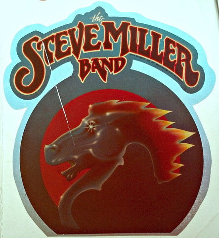 STEVE MILLER Band Vintage 70s t-shirt iron-on nos rock concert retro rock tee blues