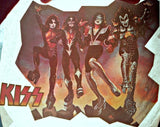destroyer, album, kiss, band, 70s, vintage, t-shirt, iron-on