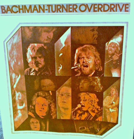 BTO Bachman Turner Overdrive 70s Vintage Band t-shirt iron-on nos retro rock