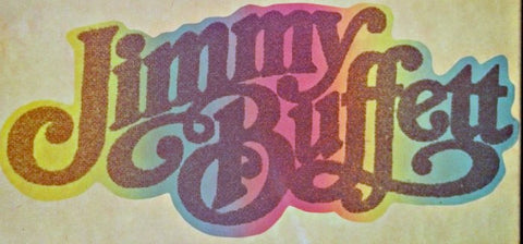 jimmy buffett, 70s, vintage, band, t-shirt, iron-on