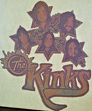 the kinks, lola, vintage, band, 70s, t-shirt, iron-on