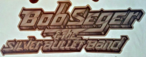 bob seger, silver, bullet, band, vintage, 70s, t-shirt, iron-on