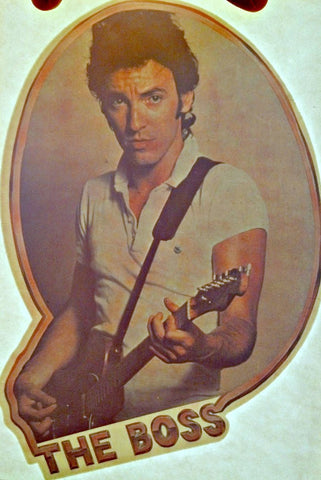 bruce, springsteen, vintage, 70s, band, t-shirt, iron-on