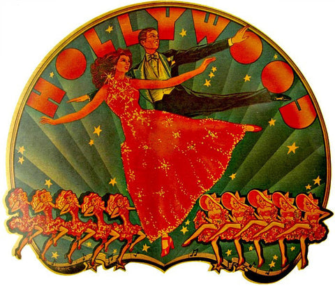 hollywood, dancing, dwts, ball room, dance, vintage, retro, 70s, t-shirt, iron-on