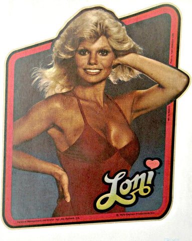 hottie, loni, anderson, wkrp, vintage, 70s, tv, movies, series, t-shirt, iron-on