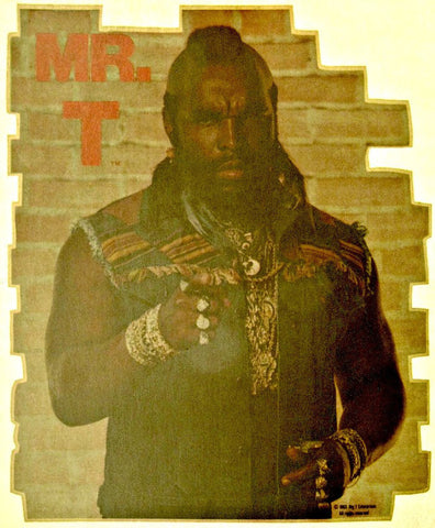 mr. t, ba baracus, clubber lange, rocky, boxing, vintage, 70s, t-shirt, iron-on