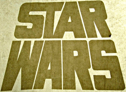 star wars, vintage, t-shirt, iron-on, 70s, 80s