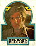 robert redford, butch cassidy, sundance kid, 70s, vintage, t-shirt, iron-on