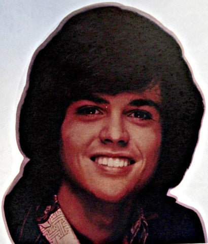 donny osmond, vintage, 70s, t-shirt, iron-on