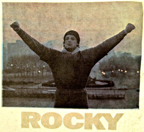 rocky, balboa, stallone, vintage, t-shirt, iron-on