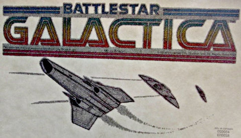 battlestar galactica, cylon, vintage, t-shirt, iron-on