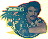 MAGNUM PI 2 Vintage 70s t-shirt iron-on transfer Original Authentic nos retro american fashion Tom Selleck