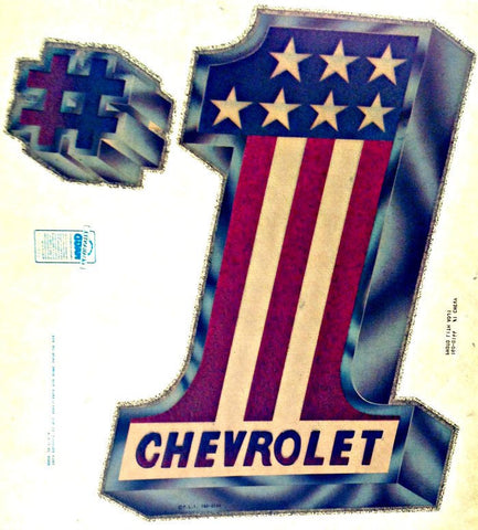 CHEVROLET Racing Vintage 70s Hot Rod Muscle t-shirt iron-on transfer authentic NOS retro american fashion