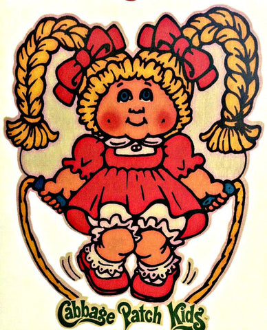 CaBBaGe PaTcH KiD Vintage 70s t-shirt iron-on transfer Original Authentic american fashion