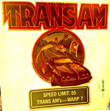 TRANS AM Muscle Car Racing Vintage 70s t-shirt iron-on transfer authentic NOS retro american fashion Hot Rods
