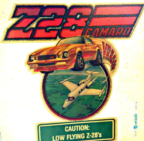 Z28 CAMARO Muscle Car Racing Vintage 70s t-shirt iron-on transfer authentic NOS retro american fashion Hot Rods