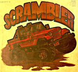 JEEP SCRAMBLER 4x4 Vintage 70s t-shirt iron-on transfer authentic NOS retro american fashion Hot Rods Muscle Car Roach