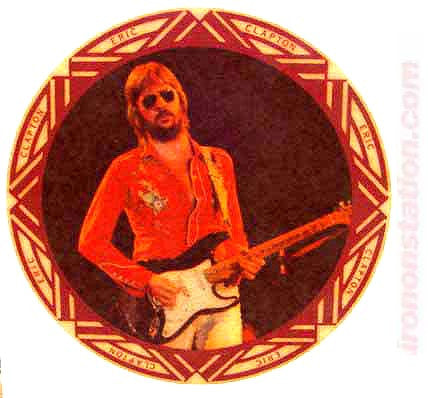 eric clapton, guitar, vintage, 60s, 70s, t-shirt, iron-on