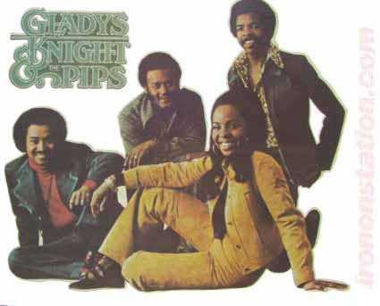 gladys knight, the pips, vintage, 70s, t-shirt, iron-on
