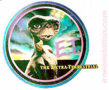 3x Transfers, 1982 ET The Extra Terrestrial t-shirt iron-on Original NOS 80s retro graphic tee patch, Spielberg