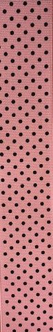 Small Black Dot Pink
