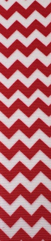 Bright Red Chevron